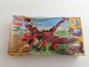 Lego Creator 31032 Set Scorpion Dragon Snake Sealed Damaged Box