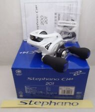 Shimano Stephano 201 Left Handed Ci4+ Baitcasting Fishing Reel