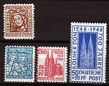 Bizone 69-71 WA, 72 YA **, 700. Jahrestag  Kölner Dom