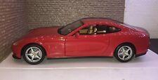 Hot Wheels 1:18 Diecast Model Car Red Ferrari 612 Scaglietti-Boxed