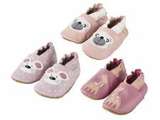 LUPILU® Baby Mädchen Soft - Krabbelschuhe Echt Leder Babyschuhe Hausschuhe NEU