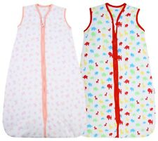 Jungle Fun 100 Cotton 2.5 Tog Unisex Nursery Baby Sleeping Bag Multi-coloured 1