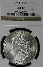 Beautiful GEM Uncirculated 1904-O Morgan Dollar NGC MS65!