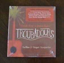 Troubadours Rise Singer-Songwriter CD DVD James Taylor, Carol King, Ronstadt NEW