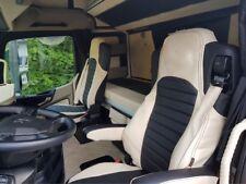Mercedes Actros MP4 LKW Sitzbezüge in Wunschfarbe komplettes Set Voll Kunstleder