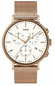 Timex Fairfield Chronograph Bracelet Watch TW2T37200 NEW