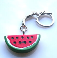 GORGEOUS HANDMADE LARGE MELON KEYRING + FREE GIFT BAG
