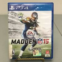 Madden NFL 15 by EA Sports for the PS4 (2015) Sony Playstation 4 Football Game