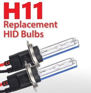 2x New H11 6000K XENON Replacement Bulb Lamp HID Fog Light BMW VW AUDI