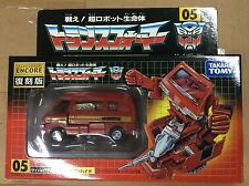 Takara Tomy Transformers Japanese Robot Reissue Encore 05 Ironhide G1 New Sealed
