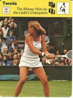 1977-79 Sportscaster Card, #73.16 Tennis, Chris Evert