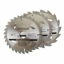 3 Pack 165mm TCT Circular Saw Blades to suit  BOSCH GKT55GCE