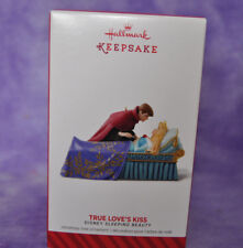 "Hallmark 2014 DISNEY SLEEPING BEAUTY "" TRUE LOVE'S KISS""  ORNAMENT NIB #H15"