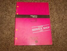 John Deere 990 Excavator Factory Operator Owner User Guide Manual OM T72248