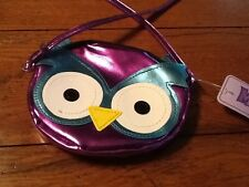 NEW Girls Purse Purple Owl Cross body   LP18.00.              #BT250