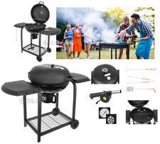 BBQ barbecue Griglia a carbonella giardino legna affumicatoio 120x65x95 nuovo