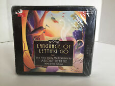 More Language of Letting Go: 366 New Daily Meditations Audio CD Unabridged *NEW*