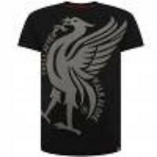 Official Liverpool F.C. Liverbird T Shirt Mens Black Large- New with tags