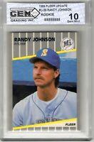 """1989 Fleer Update #U-59 """"Randy Johnson"""" RC Rookie @@LOOK@@ Gem 10 {GEM MINT10}"""