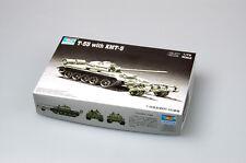 Trumpeter 1/72 07283 Russian T-55 Medium Tank With KMT-5