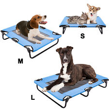 Pet Elevated Cot Dog Bed Folding Raised Pet Lounger Sleeper Hammock In/Outdoor