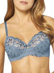 34B Triumph Modern Finesse Full Cup Bra 10165819 Underwired Lined - Placid Water