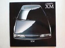 Prospekt Citroen XM injection/v6/v6 Pallas, 9.1990, 54 páginas, 30x30 cm grande