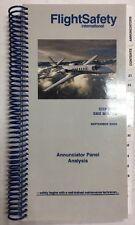 Citation 560 Series Original FlightSafety Annunciator Panel Analysis.