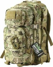 SMALL 28L MOLLE ASSAULT PATROL PACK - MULTICAM FIGHT LIGHT DAY SACK - MILITARY