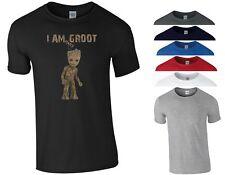 Baby Groot T Shirt Avengers Infinity War GoTG Iron Man Hulk Marvel Gift Men Top