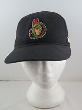 Vintage Ottawa Senators Hat by CCM - Stitched in Logos - Adult Snapback