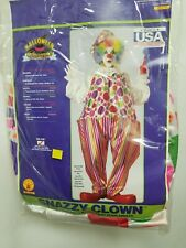 Snazzy Clown Costume Halloween Adult Men Women One Size Fits Most