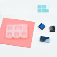 Clear Silicone Key Caps Keyboard Mold Mould Resin Casting Epoxy Crafts DIY
