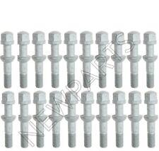 For Mercedes R170 W124 W201 W210 Set of 20 Wheel Lug Bolts 12 x 1.5mm Febi