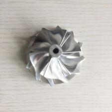 GT15-25 49.62/61.98mm 6+6 blades Turbo aluminum 2618/Billet compressor wheel