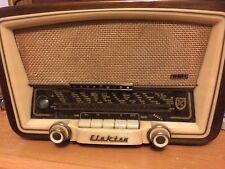 Elekten Nordmend Eidner Beautiful Antique Radio 1957 Decorative Piece Look!