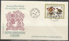 Brit. Indian Ocean Terr. 43 FDC - Royal Society Research Station