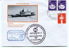 1986 Polarstern Helicopter Service Greenwich Wegener Inst. Polar Antarctic Cover
