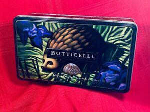 BOTTICELLI Belgian Hedgehog Truffles Tin, EXCEL Cond, DEEP Blue, Greens & Purple