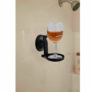Portable Suction Cup Wine Glass Holder For The Bath Shower Red Wine Glass Holder