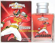 Sabans Power Rangers Mega Force Dragon 3.3/3.4oz. Edt Spray For Kids New In Box