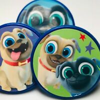 Puppy Dog Pals Cupcake Toppers Birthday Party Favors Party Supplies - 20 pcs