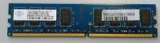 Desktop Arbeitsspeicher RAM Nanya 2GB DDR2 SDRAM PC2 - 6400U NT2GT64U8HD0BY-AD