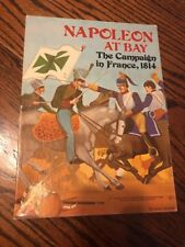 Avalon Hill Napoleon at Bay: The Campaign in France, 1814 boxed wargame