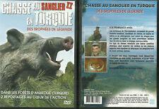 DVD - L' ART DE LA CHASSE : CHASSE AU SANGLIER EN TURQUIE / COMME NEUF
