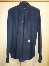 "dsquared black ""lord"" logo dinner dress shirt size 52 runway F/W 2006-2007 rare!"