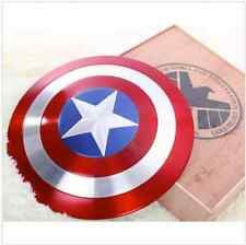 [Metal Made] CATTOYS 1/1 Captain America Metal Shield Repilica Prop Wooden Box