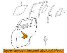 TOYOTA OEM 01-07 Highlander Rear Door-Window Lift Regulator 6980448031