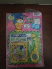 JA-RU VINTAGE NEW UNOPENED MARGE SIMPSON WALLET CREDIT CARD TIME AND MONEY LOT