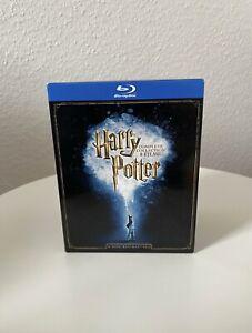HARRY POTTER DIE KOMPLETTBOX 8 FILME 1-7 BOX COMPLETE COLLECTION BLU-RAY DEUTSCH